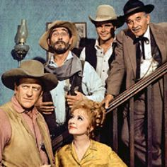 gunsmoke cast miss kitty amanda blake james arness matt dillon ken curtis festus haggen milburn stone doc galen buck taylor newly obrien Old Tv Shows, Movies And Tv Shows, Milburn Stone, Radios, 70s Sitcoms, Ken Curtis, Miss Kitty, Tv Westerns, Western Movies