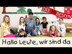 Hallo Leute, wir sind da - Singen, Tanzen und Bewegen || Kinderlieder - YouTube Finger Plays, Youtube, Language, Music, German Language, Disciplining Children, Music Ed, Musica, Musik