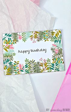 my someday in may free birthday card free printable birthday cards birthday card template