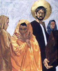 VIII - Jesus encontra as mulheres de Jerusalém. Autor: Denison38