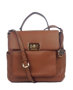 Michael Kors Sloan Leather XL Top Handle Tote Luggage >>> Check this awesome product by going to the link at the image. (This is an affiliate link) #MichaelKorsHandbags