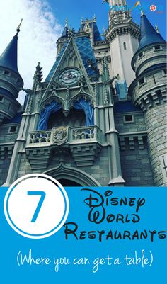 7 Walt Disney World Restaurants where you can don't need reservations.