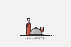 ~ Bon Appétit ~ by tesko on Creative Market