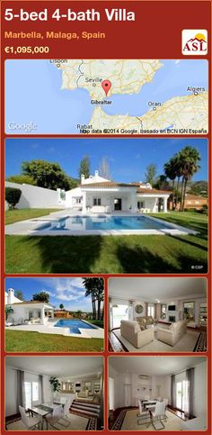 5-bed 4-bath Villa in Marbella, Malaga, Spain ►€1,095,000 #PropertyForSaleInSpain