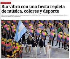 Como repercutiu nos jornais estrangeirosa abertura da Olimpíada no Rio Reprodução/
