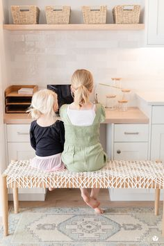 5 Ideas for Creating a Simplified (and gorgeous! Pantry Organization, Organizing, Games For Moms, Woven Chair, Large Desk, Cool Kitchen Gadgets, Toy Rooms, All Family, Keep It Simple