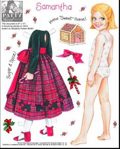 (⑅ ॣ•͈ᴗ•͈ ॣ)♡                                                             ✄Paper Doll samantha