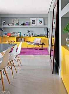 Aprenda a escolher as cores dos móveis da sala de jantar
