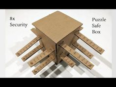 How to Make a Safe Locker Box with 8x security | password locker - YouTube