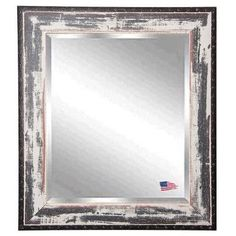 "Rayne Mirrors Jovie Jane Seaside Wall Mirror Size: 38.5"" H x 32.5"" W x 0.75"" D"