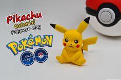 Pikachu - Pokemon GO! ✿ Polymer clay Tutorial (fimo) ✿ Irina Ivanitskaya