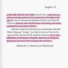 Spiritual Inspiration: Photo Bible Quotes, Bible Verses, Don't Let, Let It Be, God Is For Me, Special Letters, Seek Me, My Presence, Spiritual Inspiration