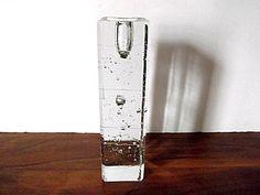 Modernist Iittala Arkipelago Glass Candleholder by MTippingAtelier, $98.00