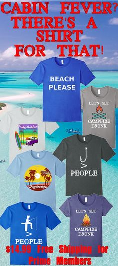 #cabinfever #beachplease Cabin Fever got you down? Forget the cold and snow every time you look in the mirror and are reminded summer is right around the corner!