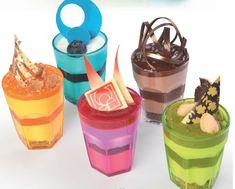 Dessertgläschen Bunt Desserts, Food, Celebration, Tailgate Desserts, Deserts, Essen, Postres, Meals, Dessert