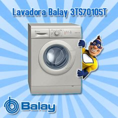Lavadora Balay 3TS70105T 7 kg 1000 rpm Acero mate