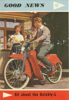 PAGE German Cyclemotors: 1952 Steppke on Meister Bicycle; Small Motorcycles, Vintage Motorcycles, Moped Scooter, Museum, Motorcycle Art, Mini Bike, Classic Bikes, Electric Scooter, Cool Bikes