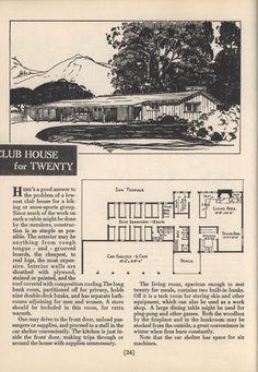 Sunset's cabin plan book