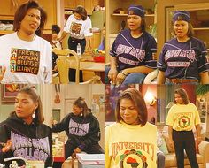 Catching up on Living Single streaming on Hulu and the 5 Things the show taught me, including feminism, sisterhood, Blackness and entrepreneurship. Living Single, Hiphop, Black 90s Fashion, Black Sitcoms, Looks Hip Hop, Black Tv Shows, 90s Inspired Outfits, 70s Outfits, Grunge Outfits