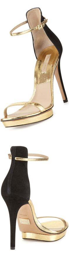 Michael Kors Doris Naked Sandal vialookandlovewithlolo repinned byBella Donna NEED SOMEONE TO FIND THIS PIN YET, PLEASE XO BD