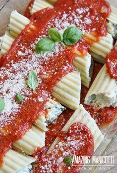 Amazing Manicotti