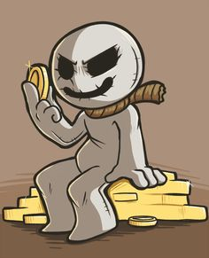 Greed by pkstarst0rm.deviantart.com on @DeviantArt #greed #bindingofisaac #sevensins