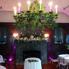 Beautiful greenery and florals provided by Bloom Room at Homewood, Asheville Wedding Venue #ashevillewedding #homewoodwedding #ashevilleweddingvenue