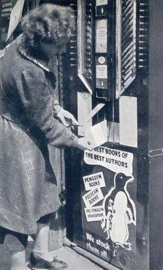 Penguin Book vending machine
