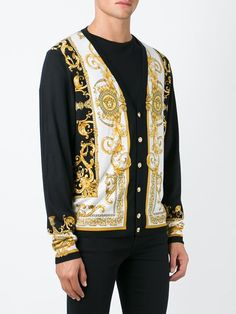 Versace strickjacke