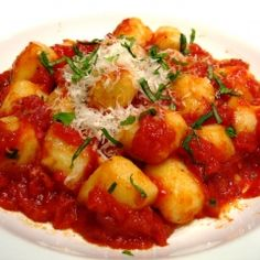 Gluten-Free Gnocchi with Tomato Sauce Recipe