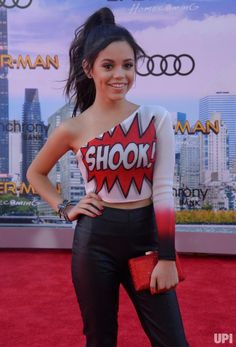 """Actress Isabella Amara attends the premiere of the sci-fi motion picture """"Spider-Man: Homecoming"""" at TCL Chinese Theatre in the Hollywood…"""