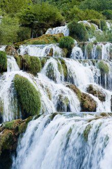 Krka-Waterfalls in Croatia, where I was