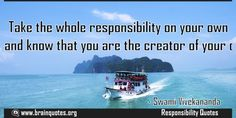 Take the whole responsibility on your own shoulders and know that you are the  Take the whole responsibility on your own shoulders and know that you are the creator of your own destiny  For more #brainquotes http://ift.tt/28SuTT3  The post Take the whole responsibility on your own shoulders and know that you are the appeared first on Brain Quotes.  http://ift.tt/2hV2znn