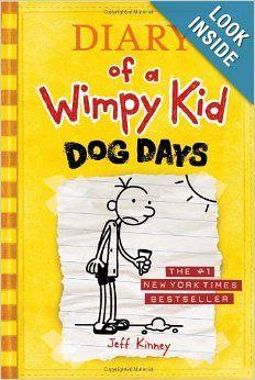 RYDER Dog Days (Diary of a Wimpy Kid, Book 4): Jeff Kinney: 9780810983915: Amazon.com: Books