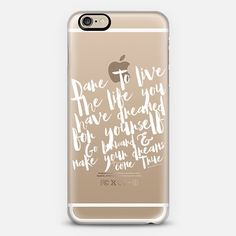 @casetify sets your Instagrams free! Get your customize Instagram phone case at casetify.com! #CustomCase Custom Phone Case | Casetify | Typography | Black & White | Transparent  | maria kritzas