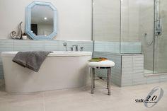 Bathroom Reno Bathroom Renos, Corner Bathtub, Alcove, Retro, Retro Illustration, Corner Tub