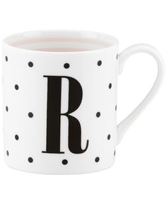 kate spade new york Monogram Mug Collection | Macy's #ad