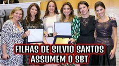 """Silvio Santos escolhe filhas para assumirem SBT e diz que agora será """"ap..."""