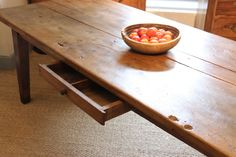 Wonderful Early 19th Century Elm Dining Table.