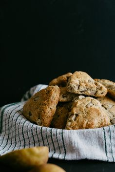 Pear and Earl Grey Scones