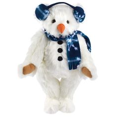 "15"" Frosty the SnowBear | Christmas | Holidays | Vermont Teddy Bear Company"