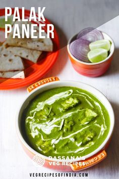 So delicious and easy to make, this healthy palak paneer is full of flavor and great for lunch or dinner. Better than any restaurant style palak paneer. Paneer Recipes, Indian Food Recipes, Ethnic Recipes, Lunch Recipes, Vegetarian Recipes, Paneer Dishes, Mushroom Recipes, Palak Paneer, Restaurant