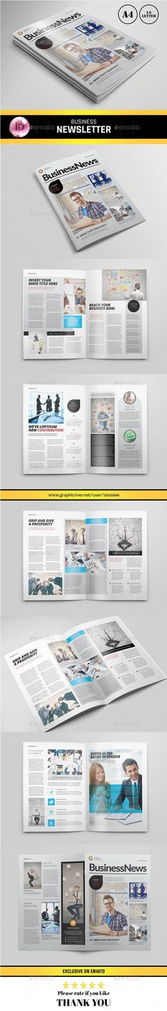 Business Newsletter-V11 Newsletter templates, Print templates - free business newsletter templates