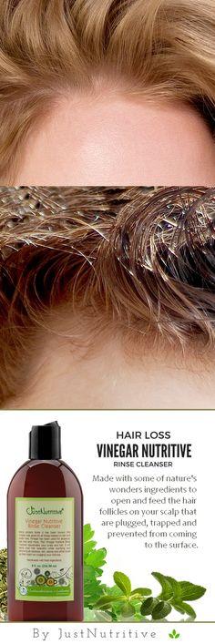 Vinegar Nutritive Rinse Cleanser | Hair coloring | Pinterest ...