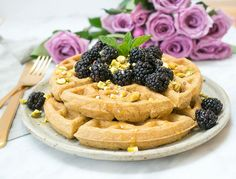 These detox-friendly waffles will leave you feeling bloat-free and healthy.