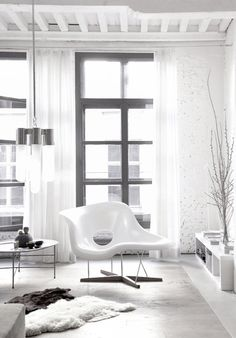dream chaise... dream space... via darling, be daring