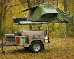 Would love to pull up at the campground towing one of these.