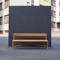 HART Bank | Hocker + Bänke | das moebel Design, Furniture, Cabin Fever, Home Decor, Benches, Stools, Chairs, Lighting, Woodworking Bench
