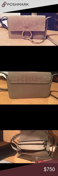 Chloe CROSSBODY Authentic Chloe CROSSBODY  price is FIRM do not bundle will cancel order doesn't come with original CROSSBODY Chloe Bags Crossbody Bags