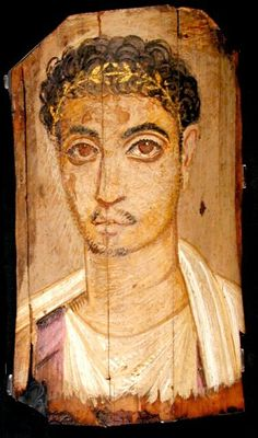 Mummy Portrait UC19612 -The Petrie Museum of Egyptian Archaeology, London.